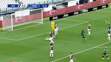 صورة هدف اتلانتا الاول في مرمى يوفنتوس 1-0 الدوري الايطالي