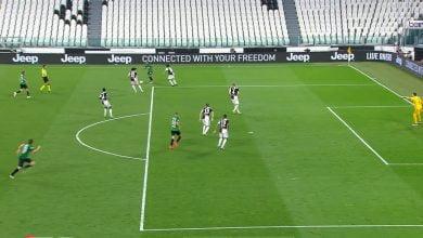 صورة هدف اتلانتا الثاني في مرمى يوفنتوس 2-1 الدوري الايطالي