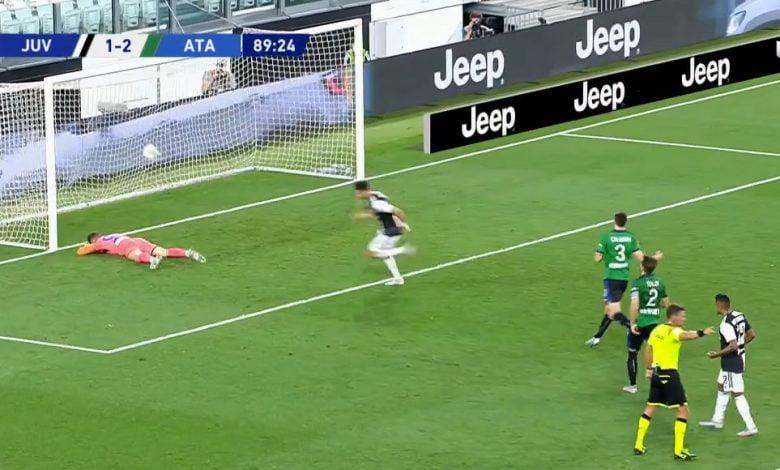 صورة اهداف مباراة يوفنتوس واتلانتا 2-2 الدوري الايطالي