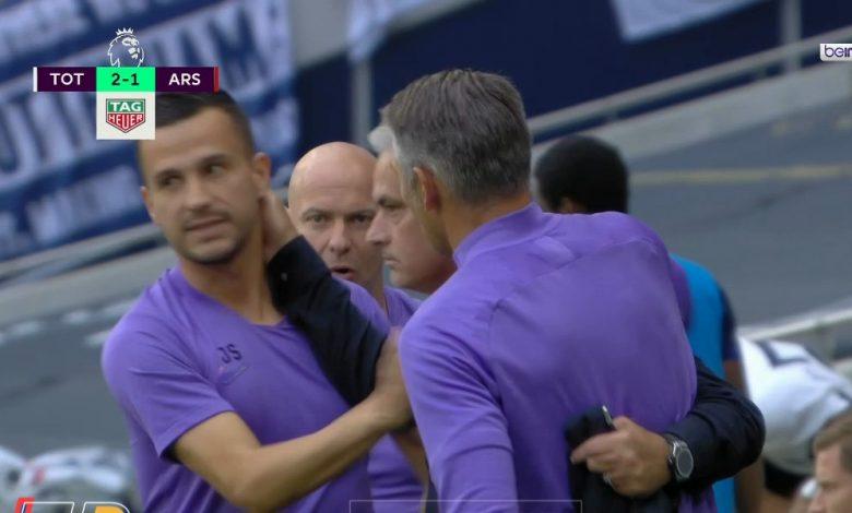 صورة اهداف مباراة توتنهام وارسنال 2-1 الدوري الانجليزي
