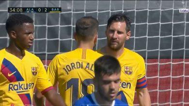 Photo of هدف ميسي في مرمى ألافيس 2-0 الدوري الاسباني