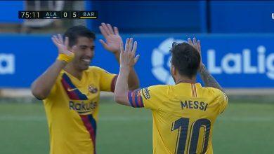 Photo of هدف ميسي الثاني في مرمى الافيس 5-0 الدوري الاسباني