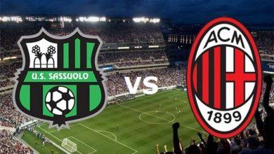 صورة موعد مباراة ساسولو وميلان في الدوري الإيطالي والقنوات الناقلة