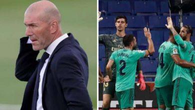 Photo of بالأسماء.. زيدان يستدعي 4 لاعبين لمكتبه بعد تدريبات ريال مدريد