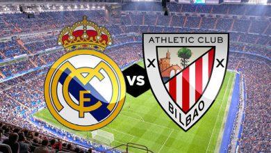 Photo of موعد مباراة أتلتيك بيلباو وريال مدريد في الدوري الإسباني والقنوات الناقلة