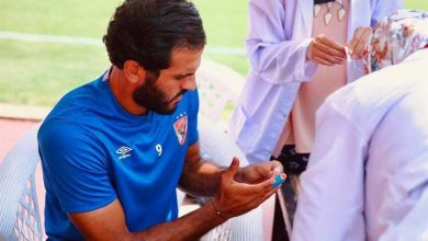 """صورة لاعبو الأهلي يخضعون لتحليلات """"رابيد تيست"""" إستعداداً لمواجهة حرس الحدود"""