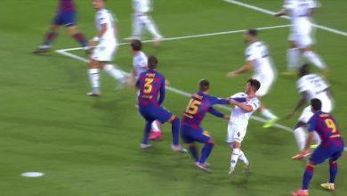 Photo of هل جامل الحكم برشلونة في هدف لونجليه أمام نابولي؟