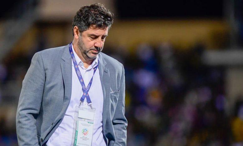 صورة آل شيخ يكشف مستقبل المدير الفني لنادي النصر