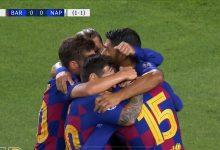Photo of هدف برشلونة في مرمى نابولي 1-0 تعليق عصام الشوالي
