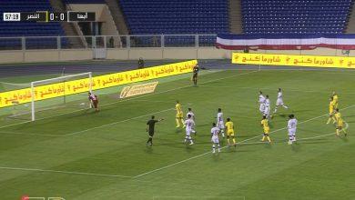 صورة هدف النصر الاول في مرمى أبها 1-0 الدوري السعودي