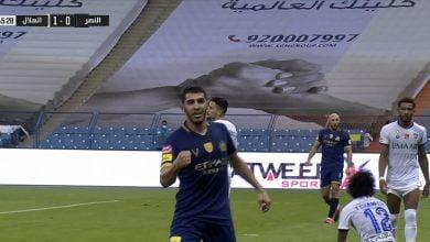 Photo of هدف تعادل النصر في مرمى الهلال 1-1 تعليق فهد العتيبي