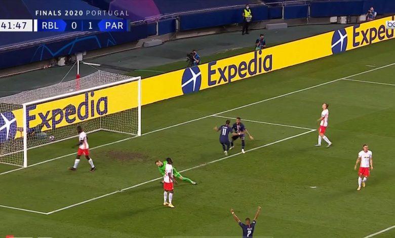 صورة ملخص مباراة باريس سان جيرمان في دوري ابطال اوروبا