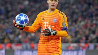 صورة رسميًا – نوير يحصد جائزة أفضل لاعب في الأسبوع بدوري أبطال أوروبا