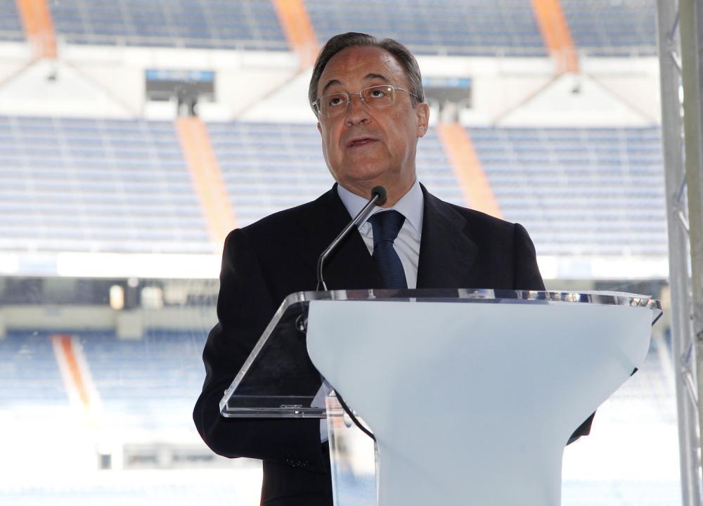 فلورنتينو بيريز رئيس ريال مدريد