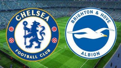 صورة موعد مباراة برايتون وتشيلسي في الدوري الإنجليزي والقنوات الناقلة
