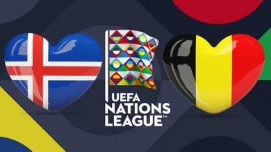 بلجيكا وأيسلندا