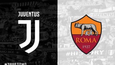 صورة موعد مباراة روما ويوفنتوس في الدوري الإيطالي والقنوات الناقلة
