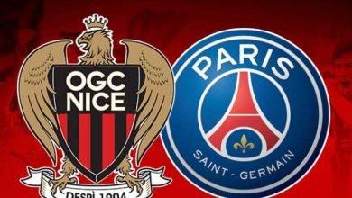 صورة موعد مباراة نيس وباريس سان جيرمان في الدوري الفرنسي والقنوات الناقلة