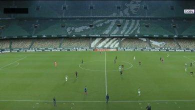 صورة ملخص مباراة ريال مدريد وريال بيتيس في الدوري الاسباني