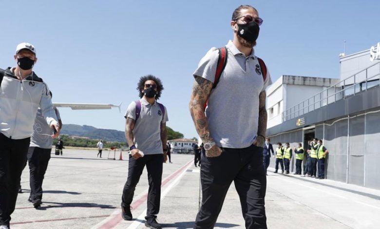 صورة عطل في طائرة ريال مدريد قبل مواجهة ريال سوسيداد
