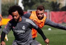 صورة مارسيلو يعود إلى تدريبات ريال مدريد