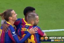 صورة ملخص مباراة برشلونة والتشي في كاس خوان جامبر