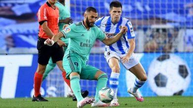 صورة تاريخ مواجهات ريال سوسيداد وريال مدريد في الدوري الإسباني