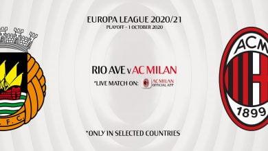 صورة موعد مباراة ميلان وريو آفي في الدوري الأوروبي والقنوات الناقلة