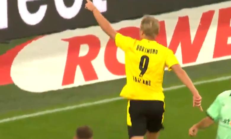 صورة اهداف مباراة بروسيا دورتموند وبوروسيا مونشنغلادباخ 3-0 الدوري الالماني