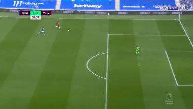 اهداف مباراة مانشستر يونايتد وبرايتون 3-2 تعليق حفيظ دراجي