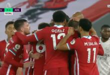 صورة اهداف مباراة ليفربول وارسنال 3-1 الدوري الانجليزي