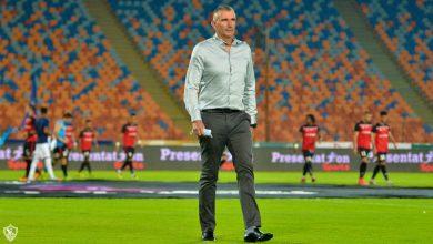 صورة ماذا قال كارتيرون بعد فوز الزمالك على الانتاج في الدوري المصري؟