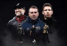 صورة ثلاثي ألماني ينافس على جائزة أفضل مدرب في أوروبا