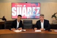 صورة رسميًا – أتلتيكو مدريد يعلن التعاقد مع لويس سواريز