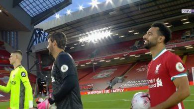 صورة ملخص مباراة ليفربول وليدز يونايتد في الدوري الانجليزي