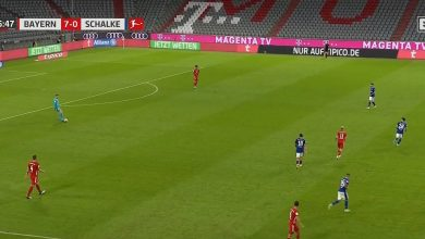 صورة اهداف مباراة بايرن ميونيخ وشالكة 8-0 الدوري الالماني