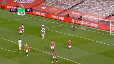 صورة اهداف مباراة مانشستر يونايتد وكريستال بالاس 1-3 الدوري الانجليزي