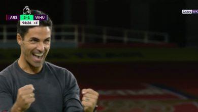 صورة اهداف مباراة ارسنال ووست هام 2-1 الدوري الانجليزي