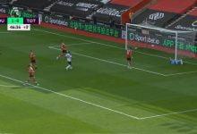 صورة هدف سون في مرمى ساوثهامبتون 1-1 الدوري الانجليزي