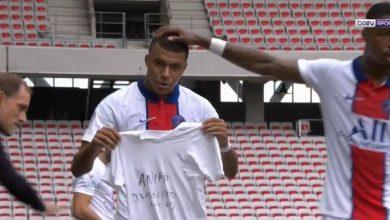 صورة اهداف مباراة باريس سان جيرمان ونيس 3-0 الدوري الفرنسي