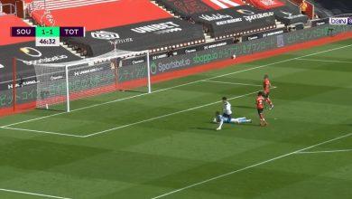 صورة هدف سون الثاني في مرمى ساوثهامبتون 2-1 الدوري الانجليزي