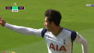 صورة اهداف مباراة توتنهام وساوثهامبتون 5-2 الدوري الانجليزي