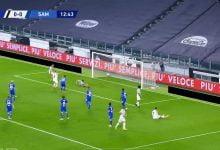 صورة هدف يوفنتوس الاول في مرمى سامبدوريا 1-0 تعليق رؤوف خليف