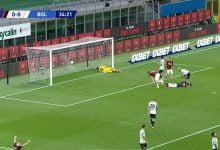 صورة هدف ابراهيموفيتش في مرمى بولونيا 1-0 الدوري الايطالي