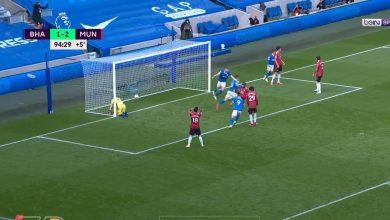 هدف برايتون الثاني في مرمى مانشستر يونايتد 2-2 تعليق حفيظ دراجي