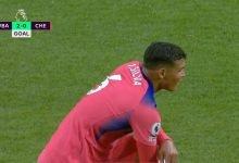 صورة هدف وست بروميتش الثاني في مرمى تشيلسي 2-0 الدوري الانجليزي