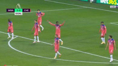 صورة هدف وست بروميتش الثالث في مرمى تشيلسي 3-0 الدوري الانجليزي