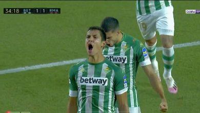صورة اهداف مباراة ريال مدريد وريال بيتيس 3-2 الدوري الاسباني