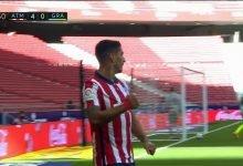 صورة هدف لويس سواريز الاول في مرمى غرناطة 5-0 الدوري الاسباني