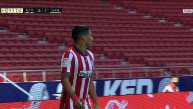 صورة هدف لويس سواريز الثاني في مرمى غرناطة 6-1 الدوري الاسباني